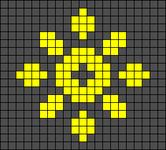 Alpha pattern #63107
