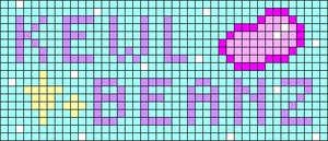 Alpha pattern #63115