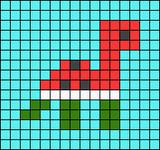 Alpha pattern #63117
