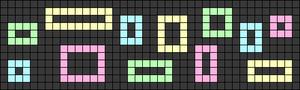 Alpha pattern #63140