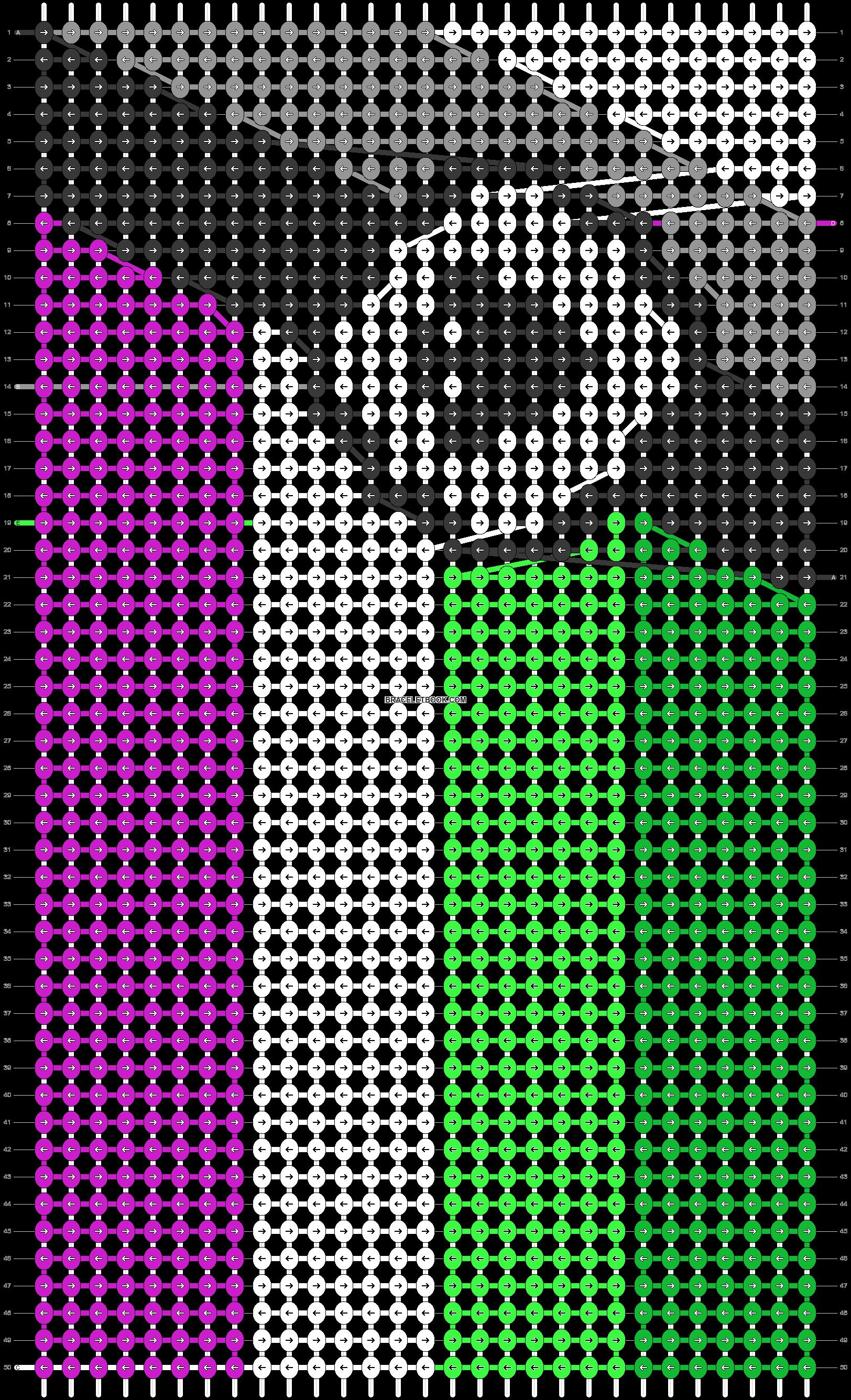 Alpha pattern #63160 pattern