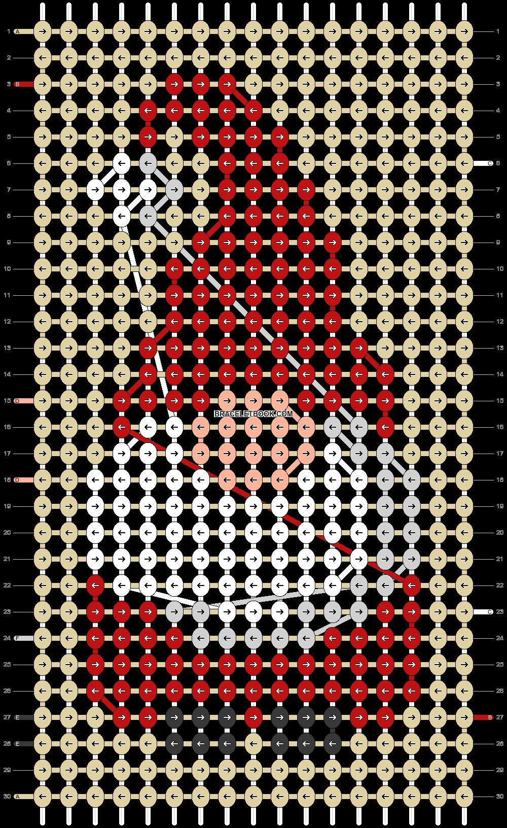 Alpha pattern #63166 pattern