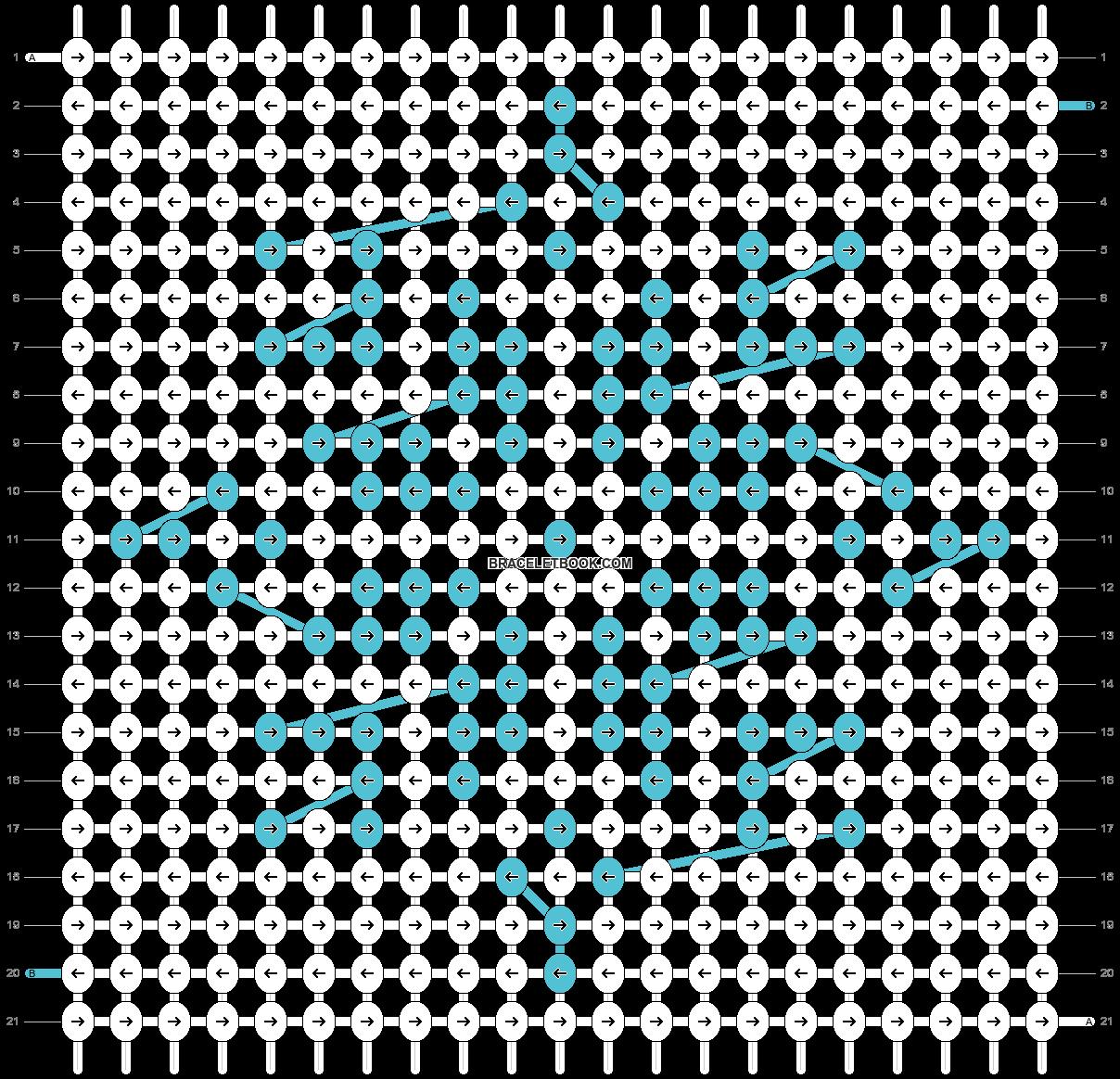 Alpha pattern #63169 pattern