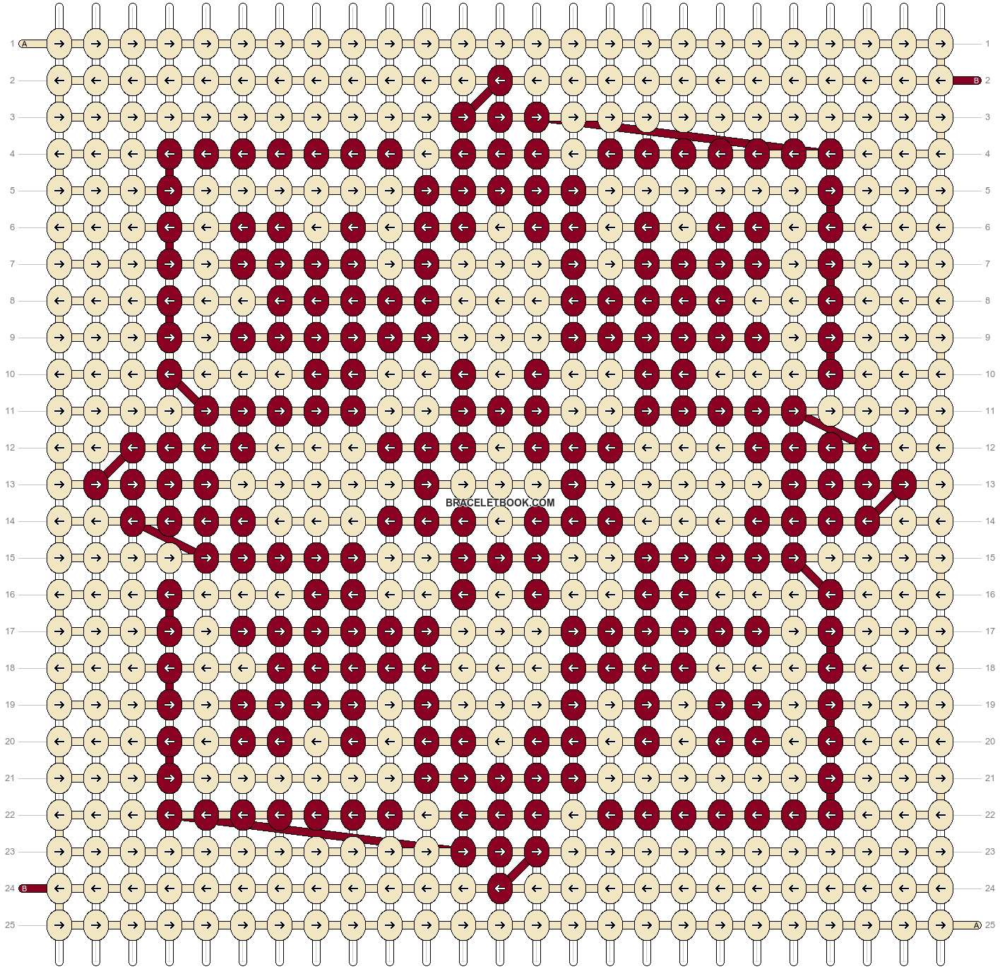 Alpha pattern #63171 pattern