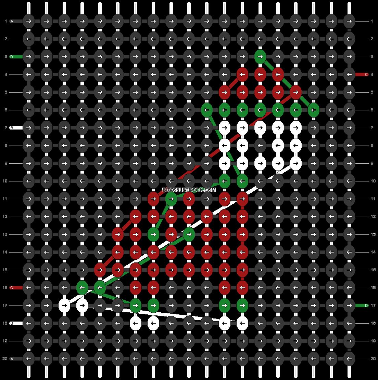 Alpha pattern #63201 pattern