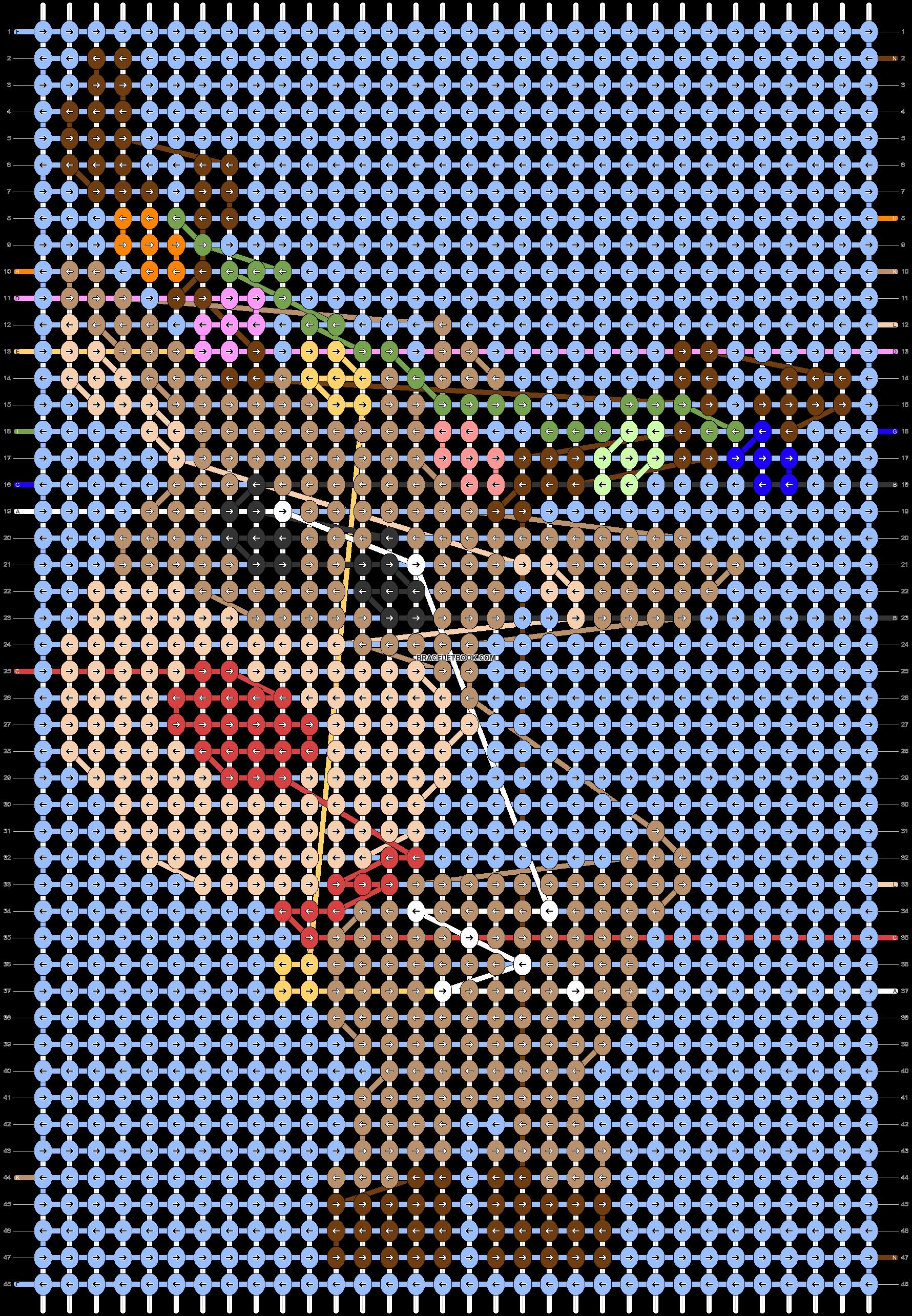 Alpha pattern #63203 pattern