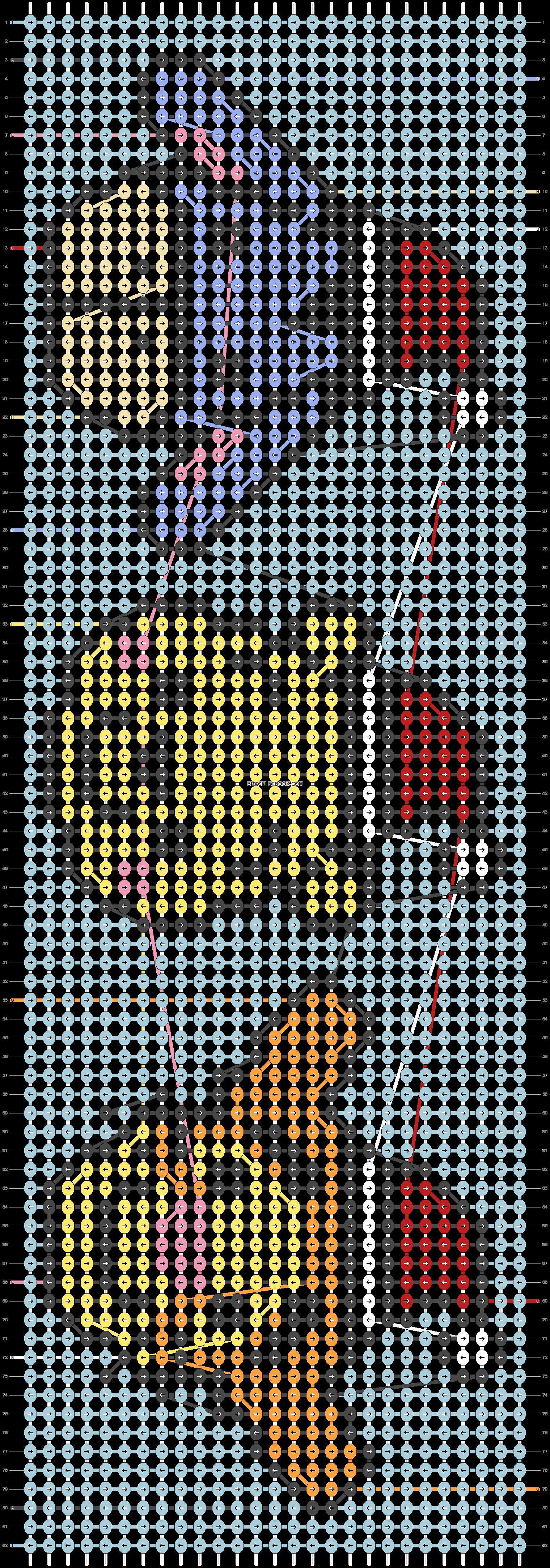 Alpha pattern #63210 pattern