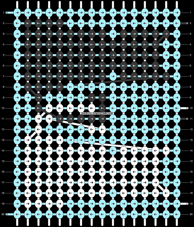 Alpha pattern #63253 pattern