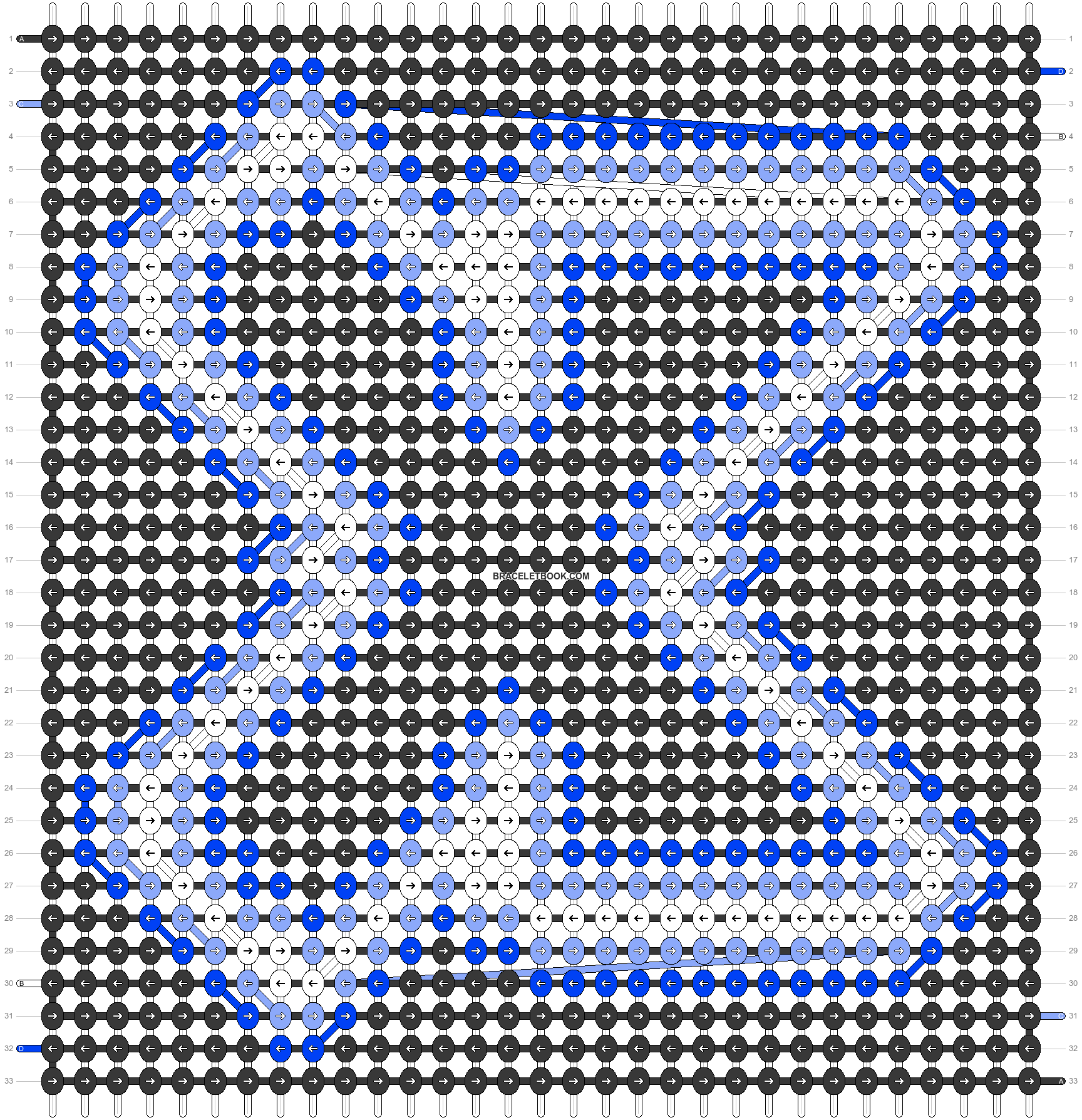 Alpha pattern #63264 pattern