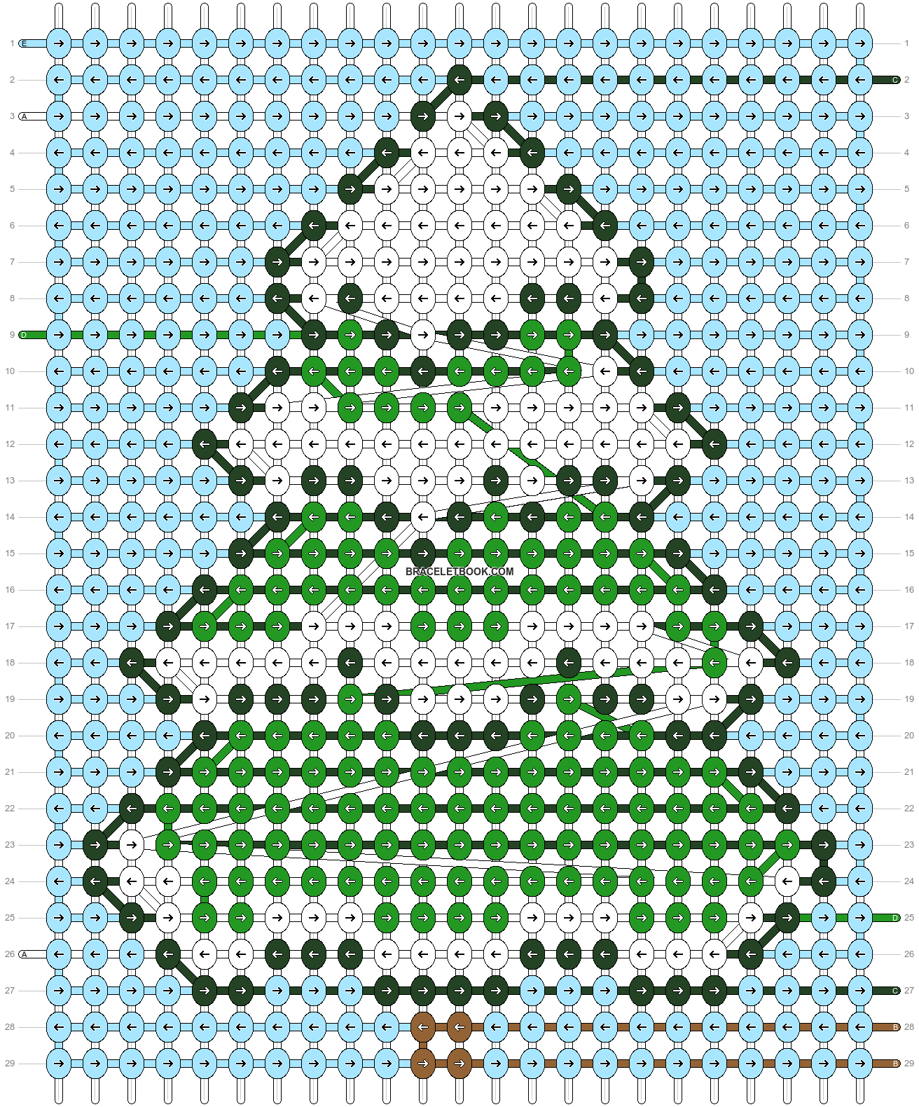 Alpha pattern #63269 pattern