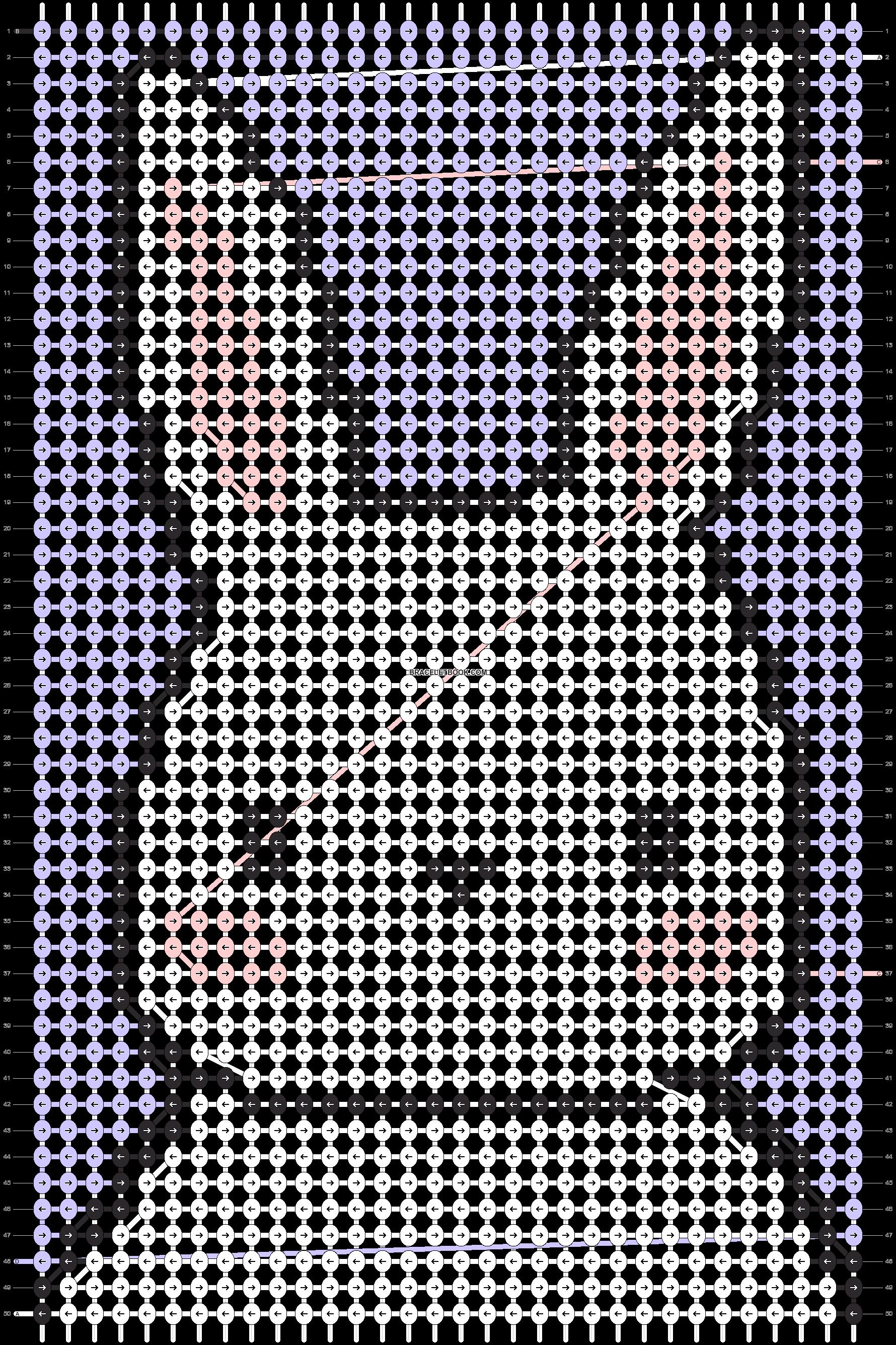 Alpha pattern #63301 pattern