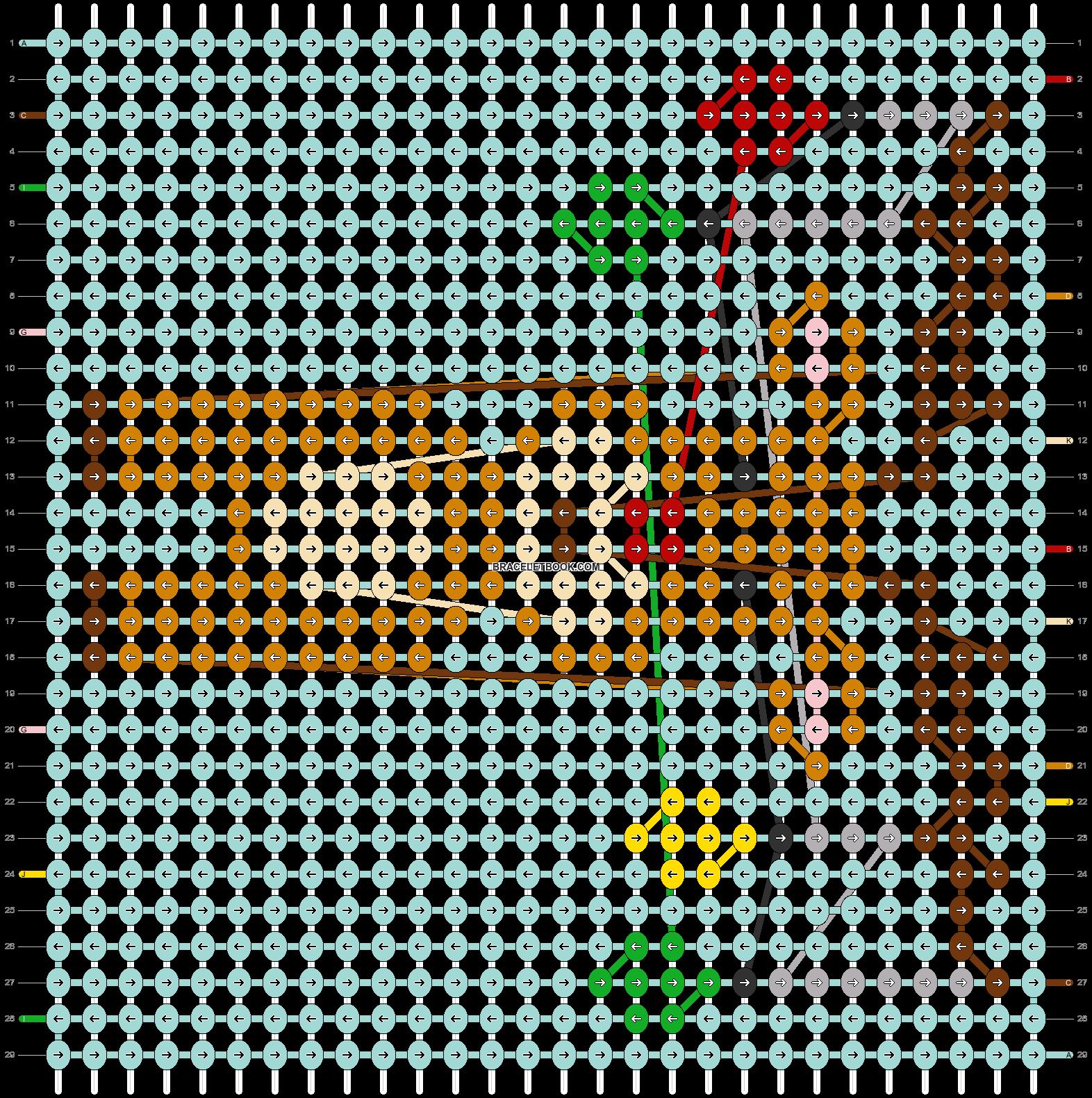 Alpha pattern #63323 pattern