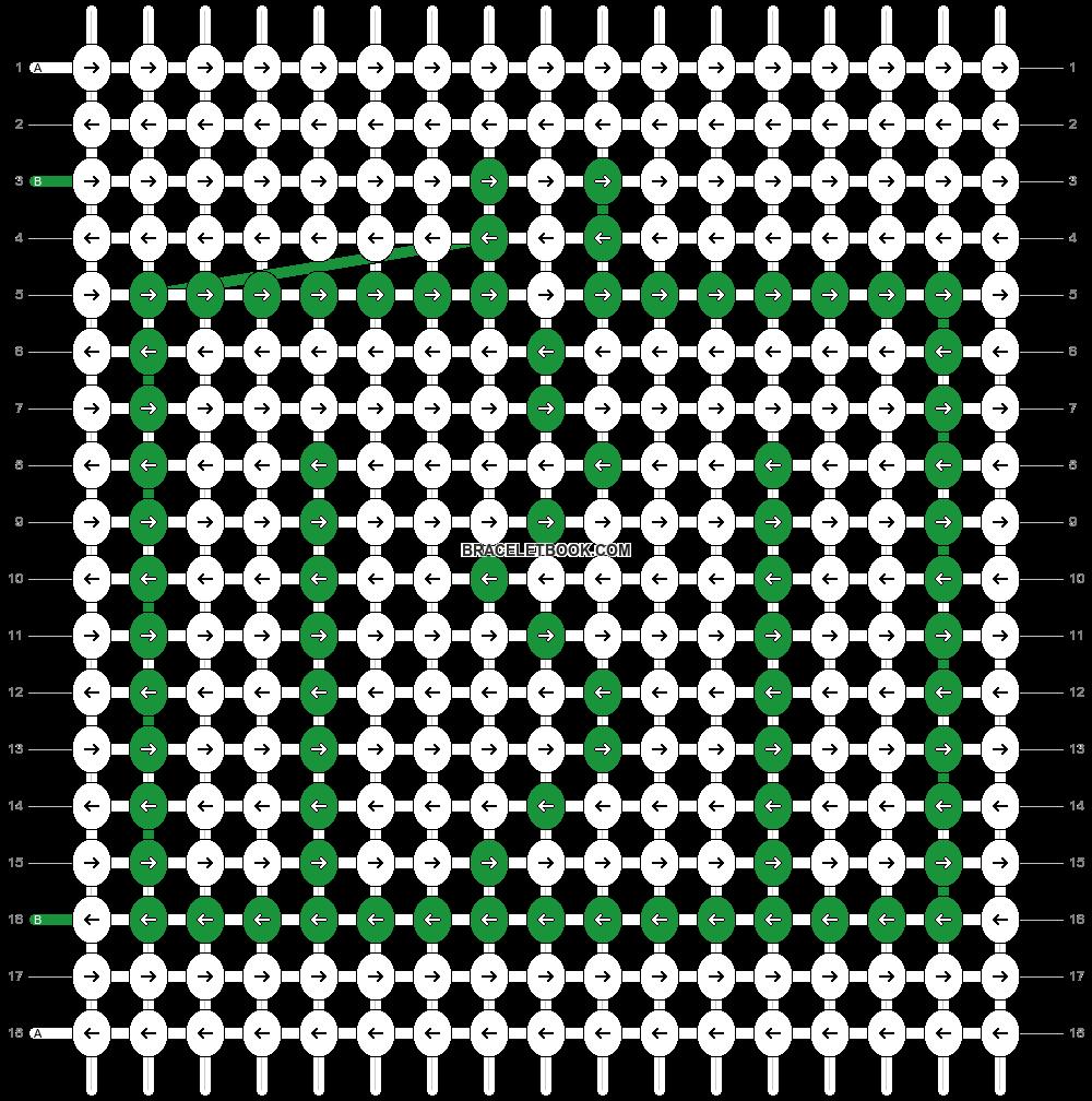 Alpha pattern #63339 pattern
