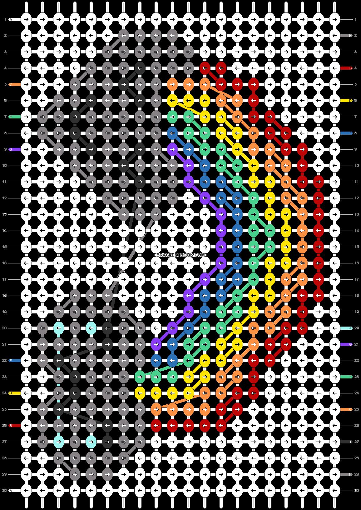 Alpha pattern #63343 pattern