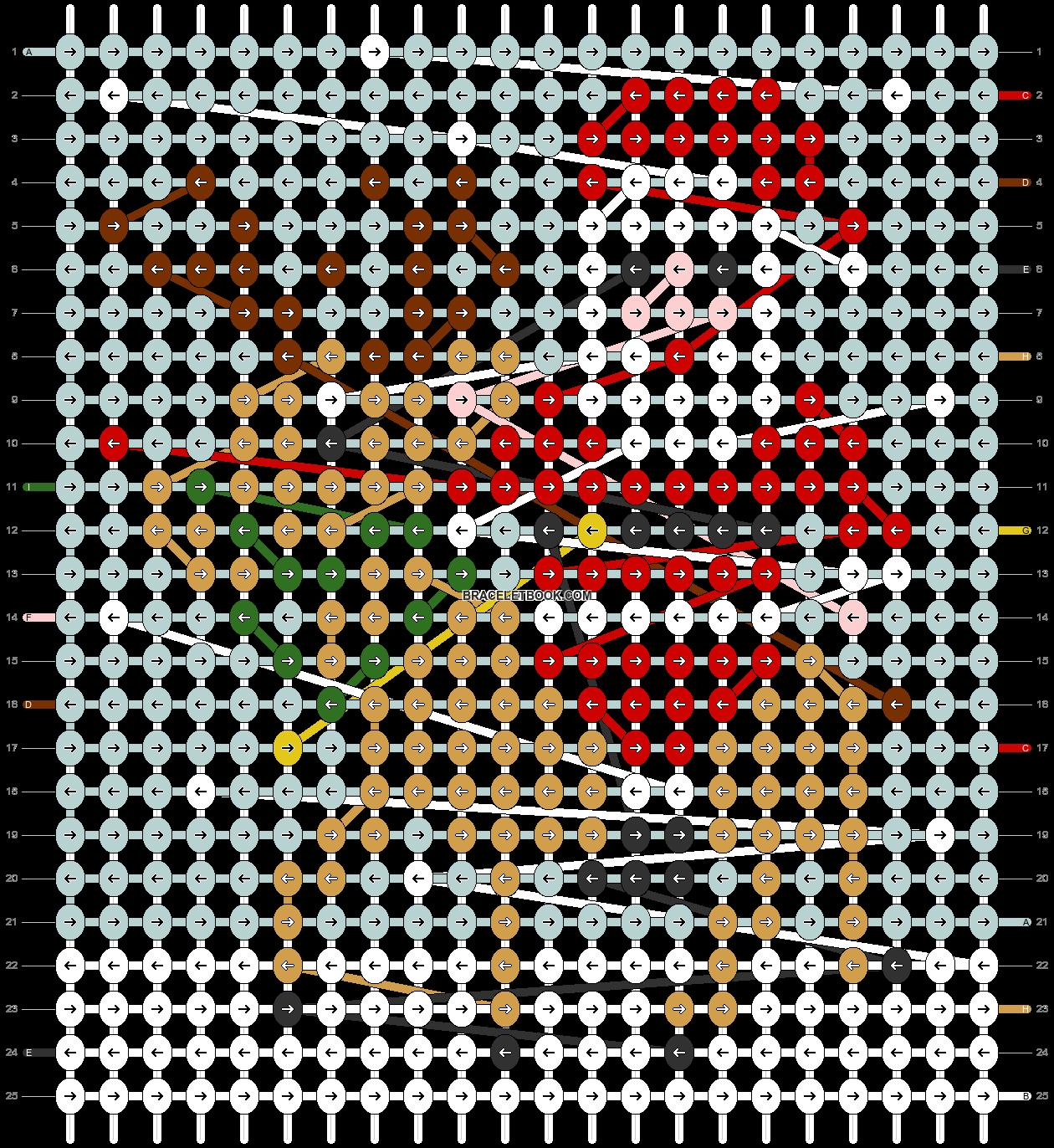 Alpha pattern #63350 pattern