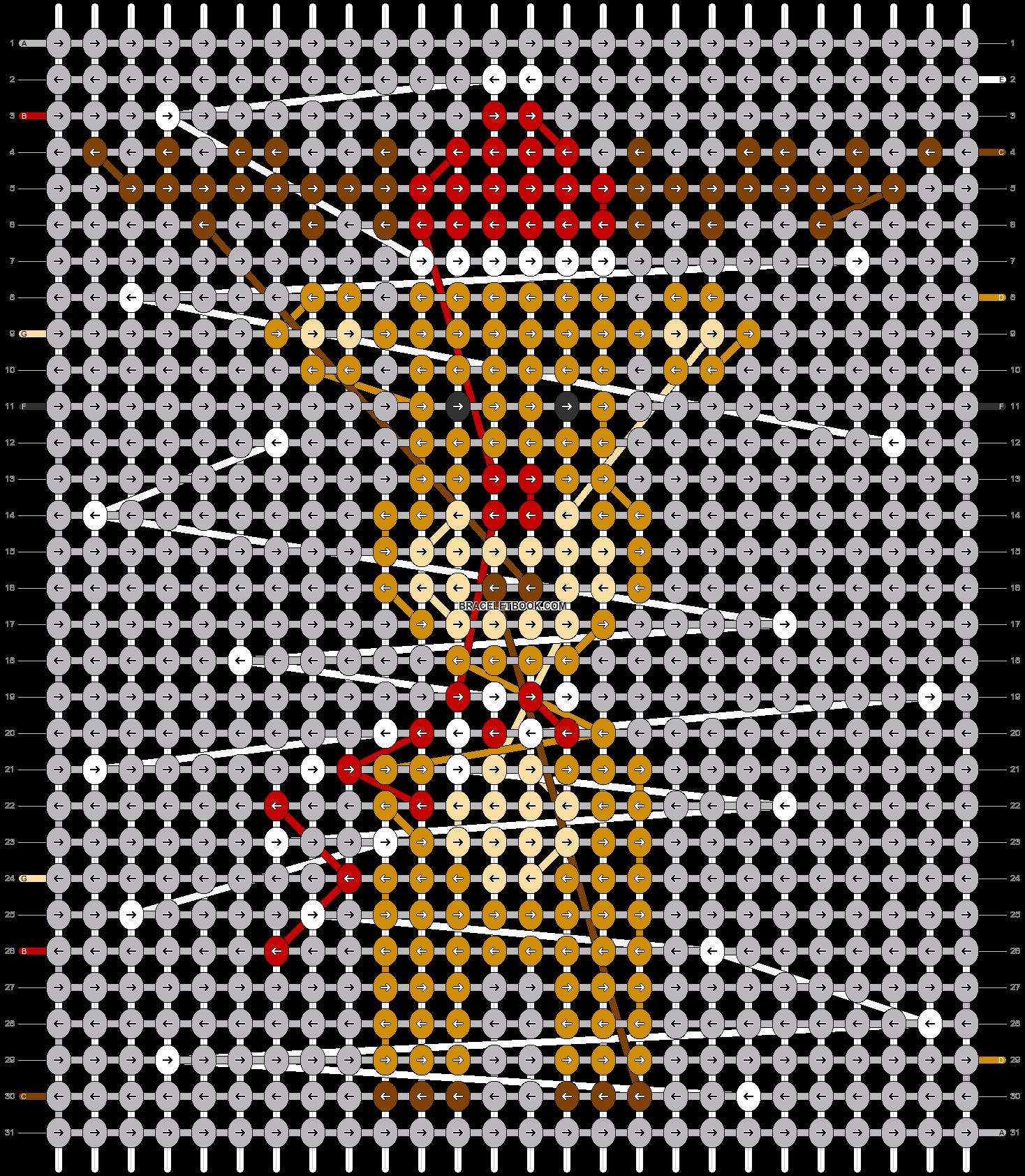 Alpha pattern #63381 pattern