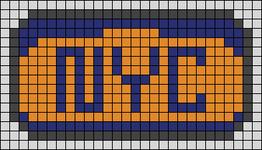 Alpha pattern #63396