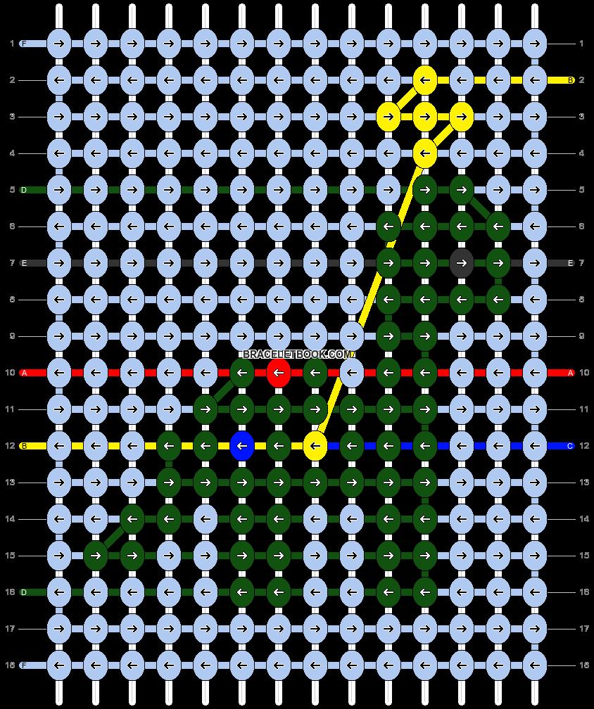 Alpha pattern #63483 pattern