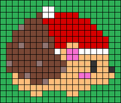 Alpha pattern #63490