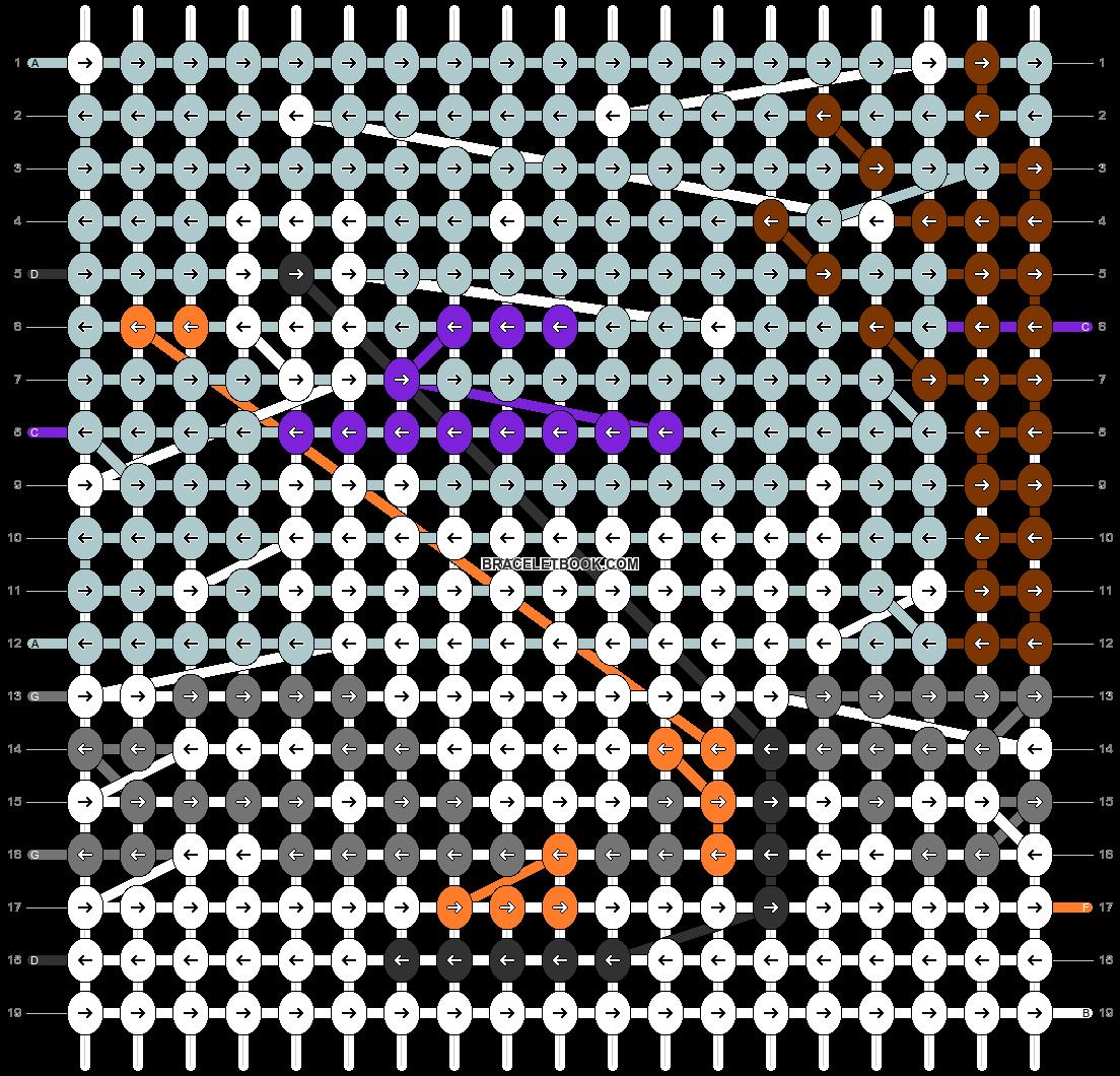 Alpha pattern #63493 pattern