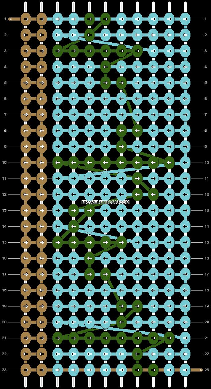 Alpha pattern #63513 pattern