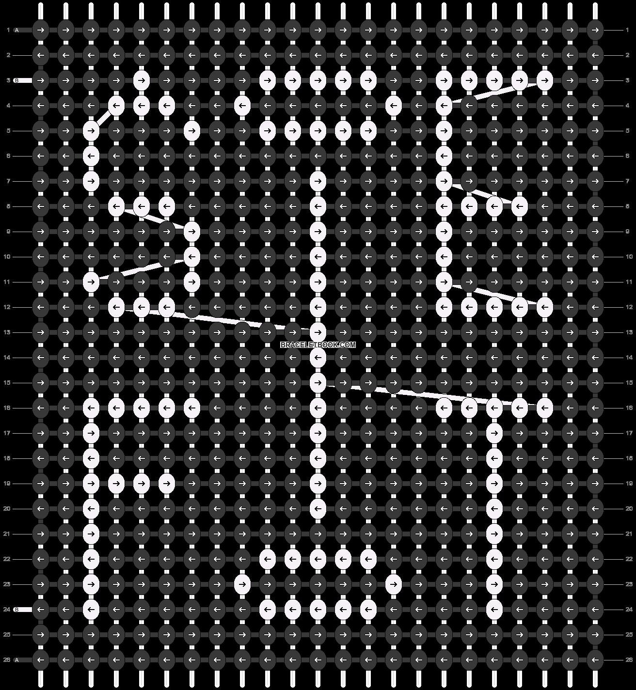 Alpha pattern #63543 pattern