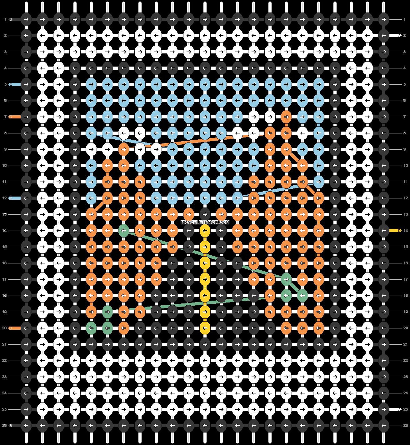 Alpha pattern #63568 pattern