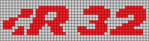 Alpha pattern #63578