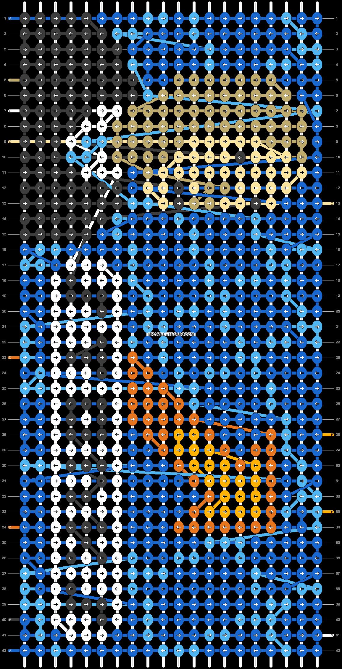 Alpha pattern #63611 pattern