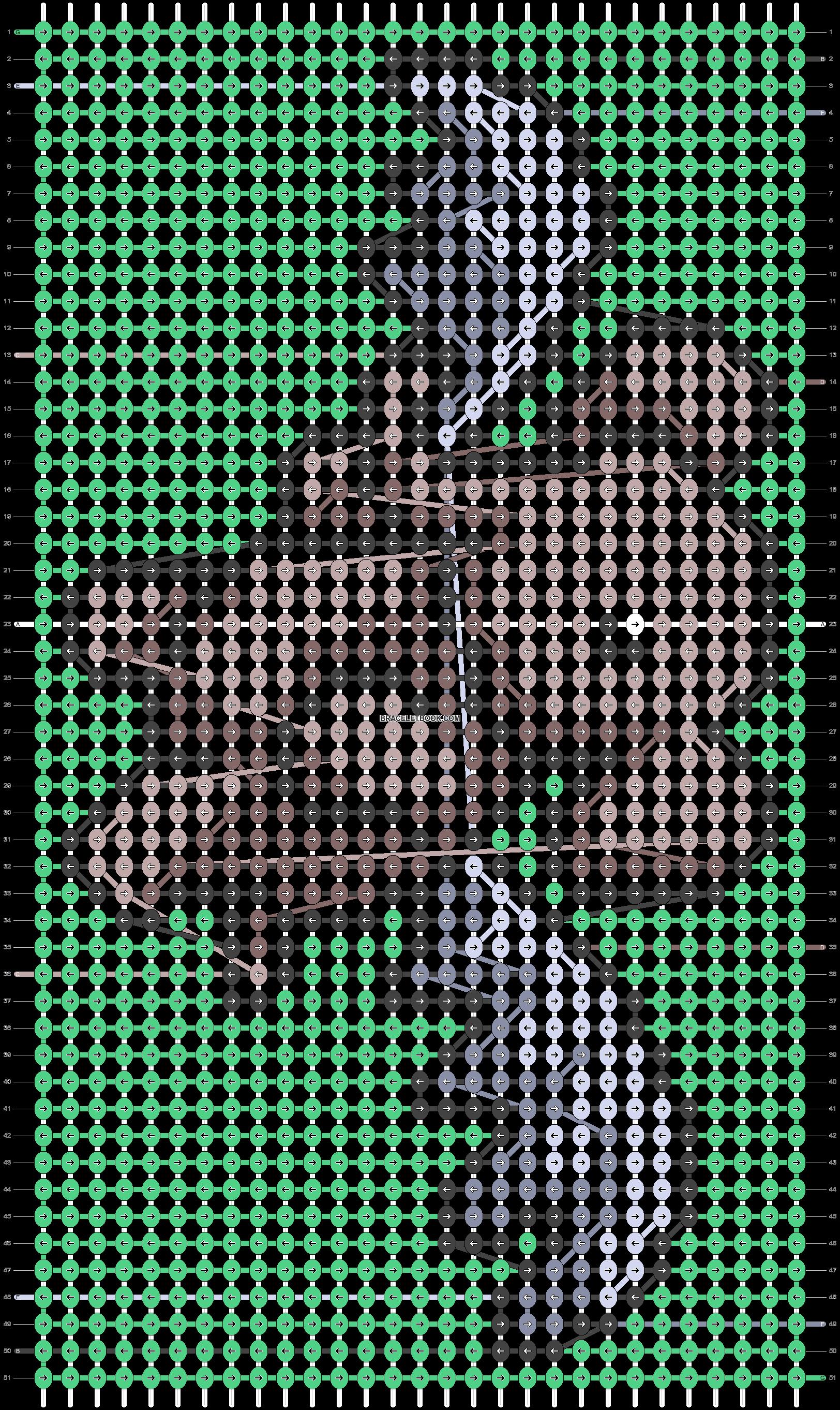 Alpha pattern #63612 pattern