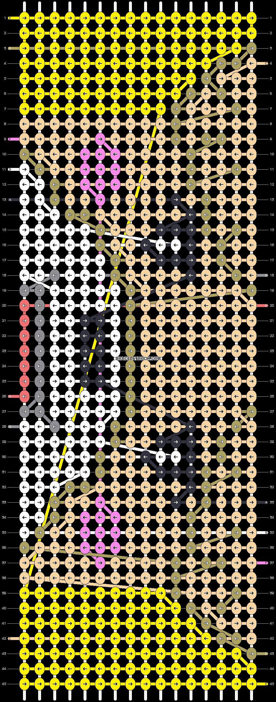 Alpha pattern #63629 pattern