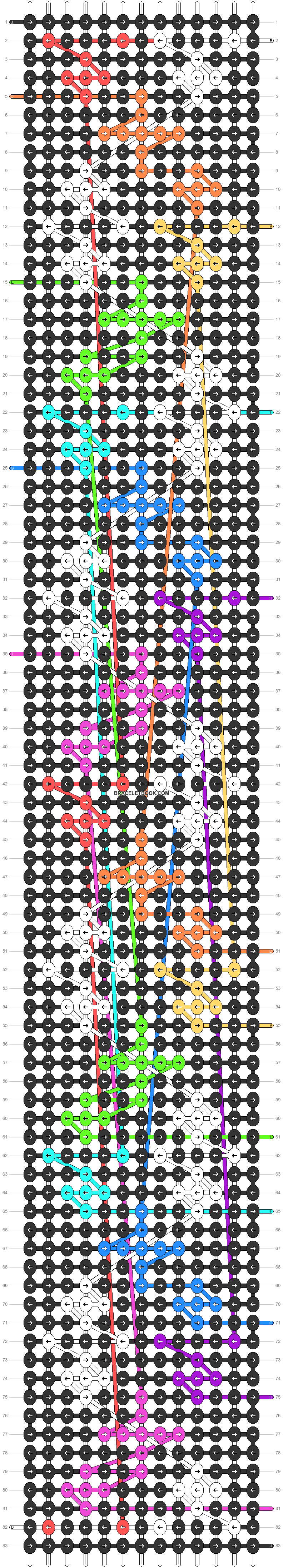 Alpha pattern #63653 pattern