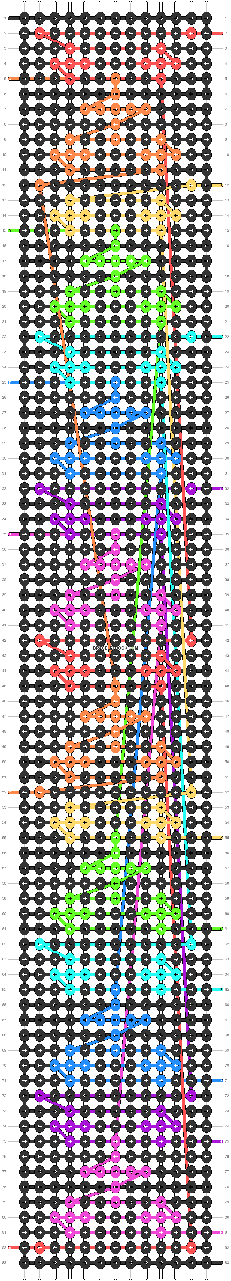 Alpha pattern #63654 pattern