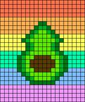 Alpha pattern #63684