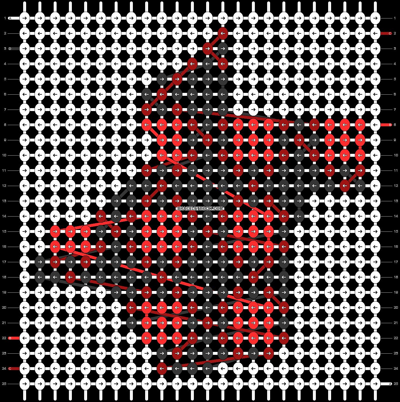 Alpha pattern #63695 pattern