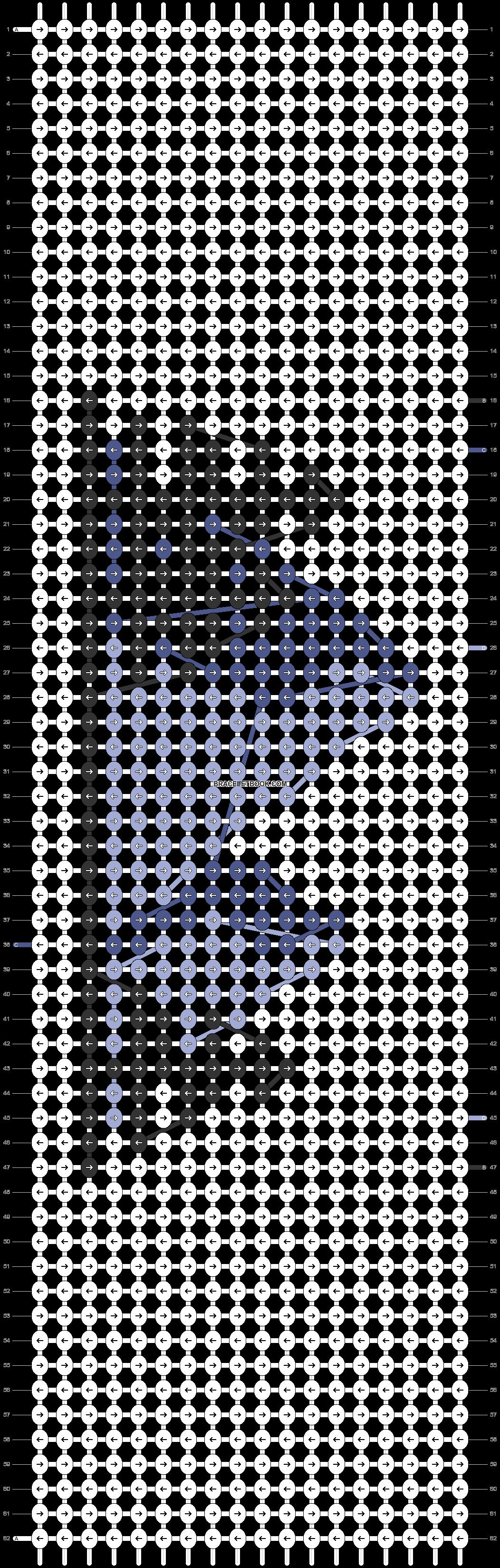 Alpha pattern #63710 pattern