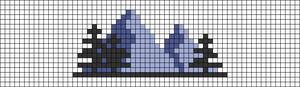Alpha pattern #63710