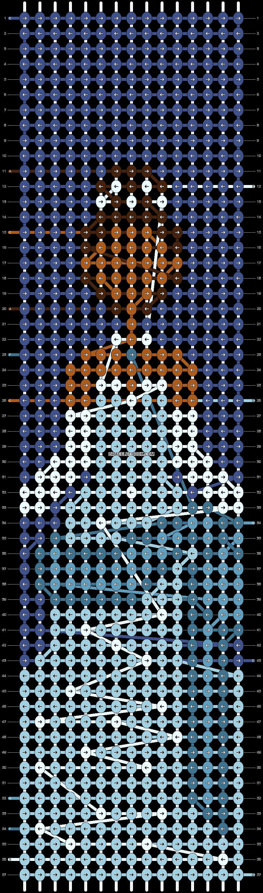 Alpha pattern #63721 pattern