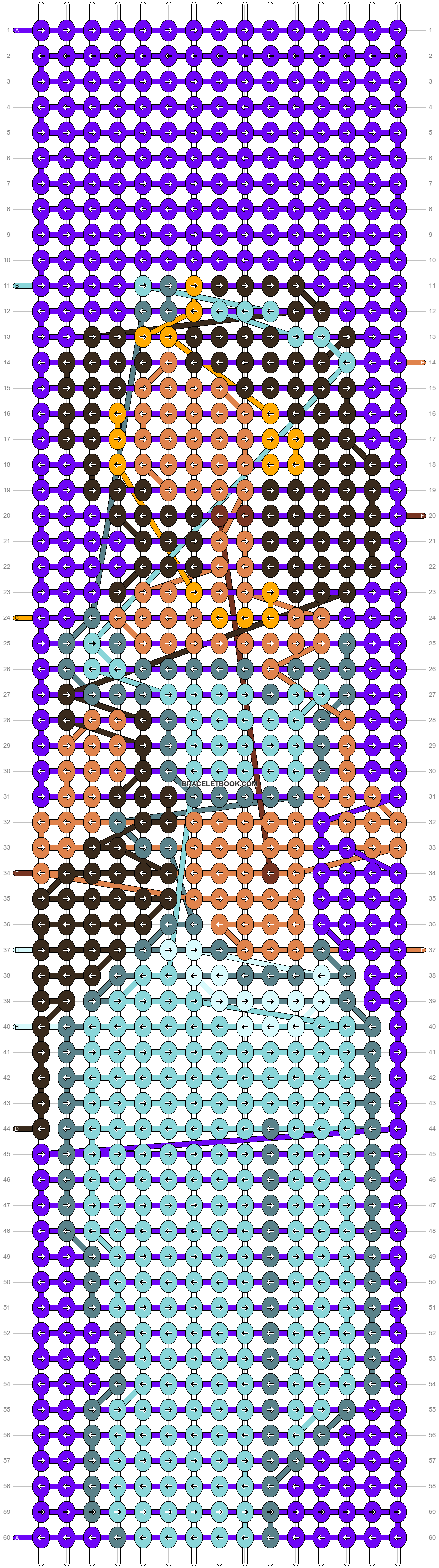 Alpha pattern #63722 pattern