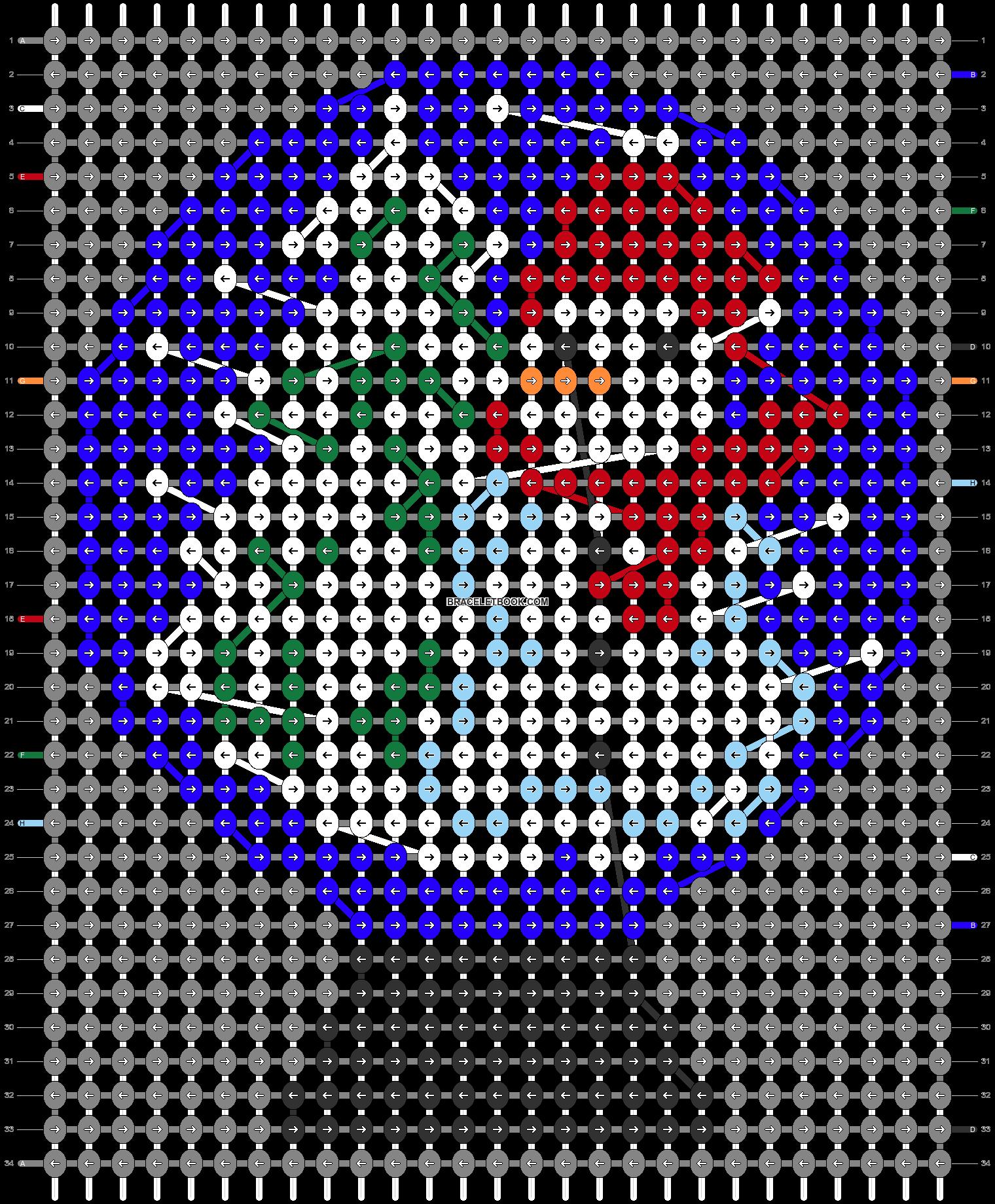 Alpha pattern #63729 pattern