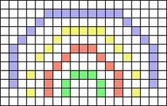 Alpha pattern #63733