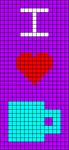 Alpha pattern #63742