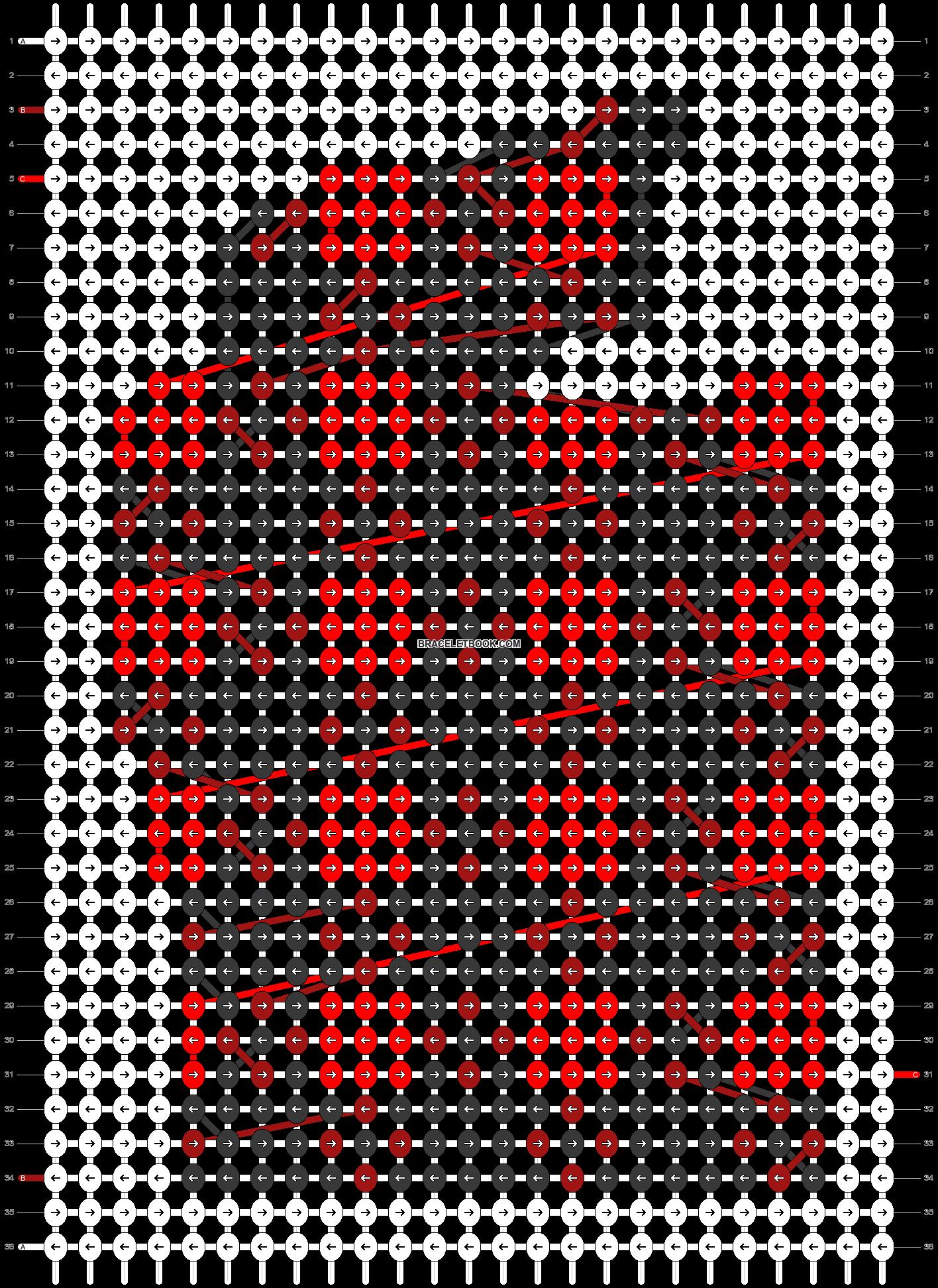 Alpha pattern #63751 pattern
