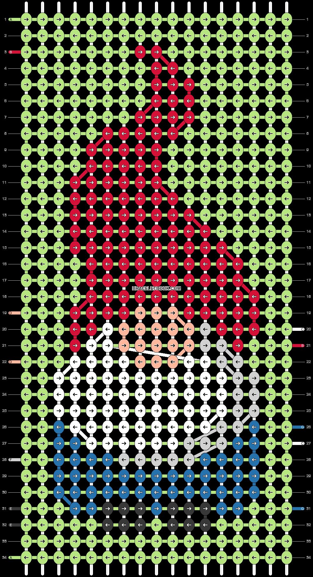 Alpha pattern #63783 pattern