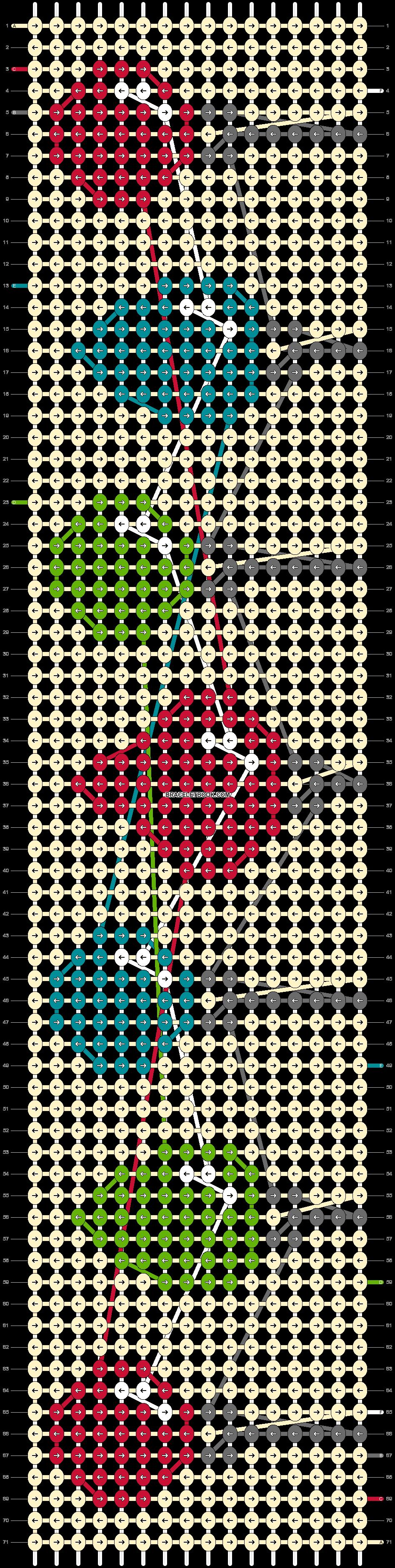 Alpha pattern #63785 pattern