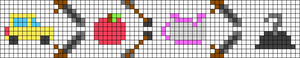 Alpha pattern #63816