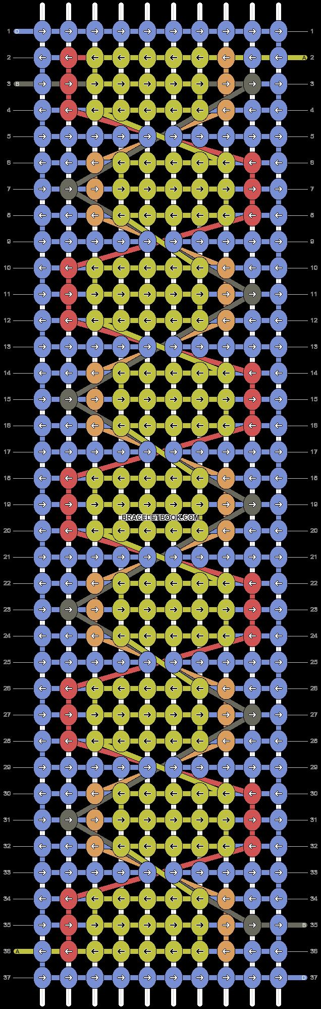 Alpha pattern #63829 pattern