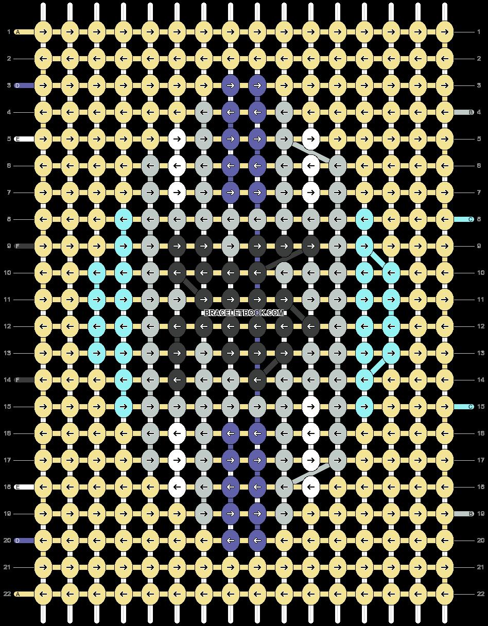Alpha pattern #63854 pattern