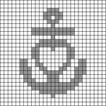 Alpha pattern #63855