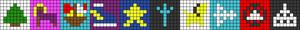 Alpha pattern #63883